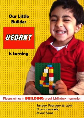 Lego invite!